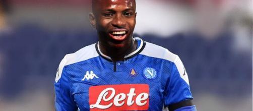 Victor Osimhen, l'attaccante nigeriano potrebbe andare al Napoli.