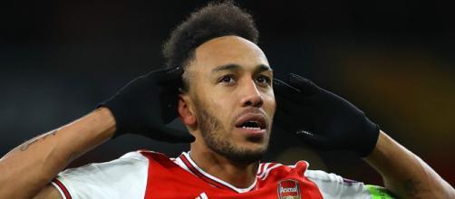 Aubameyang double buteur hier avec Arsenal