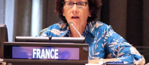 Brigitte Collet é uma diplomata francesa. (Arquivo Blasting News)