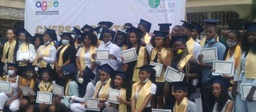 Sortie des élèves du Lycée Fustel des Coulanges à Yaoundé (c) Pharel Ateba