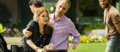 Eliza acabará sendo vítima da vingança de Dino em 'Totalmente Demais'. (Reprodução/TV Globo)