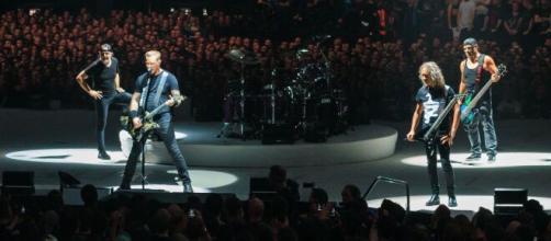 Metallica faz live nesta segunda-feira (20). (Arquivo Blasting News)
