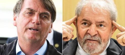 Segundo Lula, Bolsonaro inventou ter sido infectado para promover a cloroquina. Créditos: https://veja.abril.com.br/