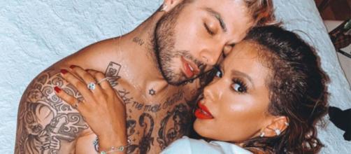 Anitta confirma fim de relacionamento com Gui Araújo. (Arquivo Blasting News)