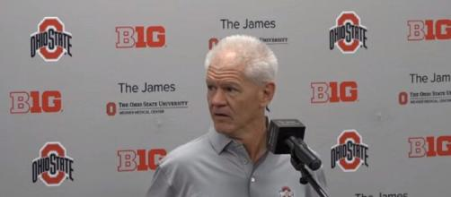 Buckeyes defeat Clemson over Hancock, fans thank Kerry Coombs for the revenge. [Image Source: Lettermen Row/YouTube]