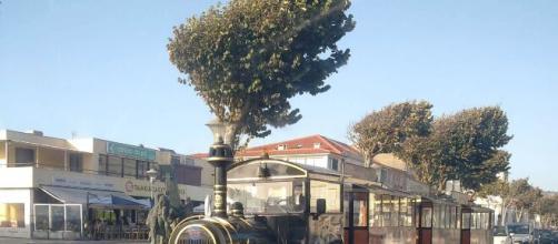 Comboio turístico em Esposende