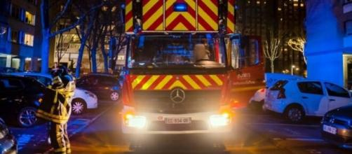Un grave accident est survenu sur l'autoroute A7 - photo capture d'écran Twitter