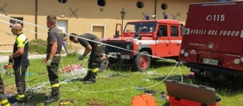 12enne cade in un pozzo a Gorizia e muore precipitando per 30 metri.