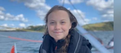 Greta Thunberg to donate one-million-euro humanitarian prize. [Image source/World Teach YouTube video]