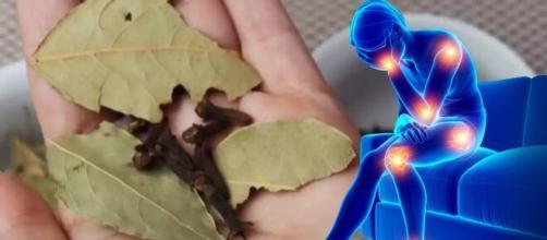 La recette du thé au lauriers et aux clous de girofle serait efficace contre les douleurs dorsales - capture Facebook