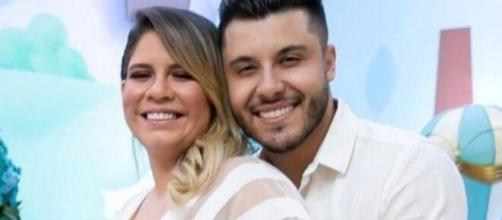 Murilo Huff se declara para Marília Mendonça. (Arquivo Blasting News)