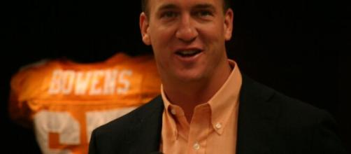 Peyton Manning was named the NFL MVP five times. [Image Source: Flickr | Tennessee Journalist]