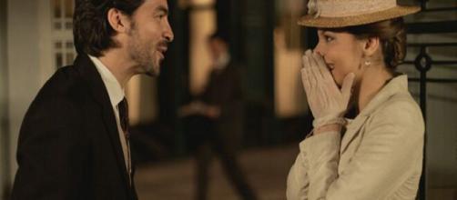 Una vita, trame Spagna: Cinta e Rafael in procinto di partire dopo essersi fidanzati.