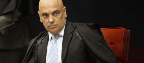 Alexandre de Moraes envia queixa-crime contra Bolsonaro. (Arquivo Blasting News)