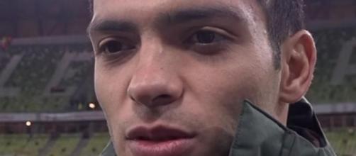 Raul Jimenez, punta del Wolverhampton.