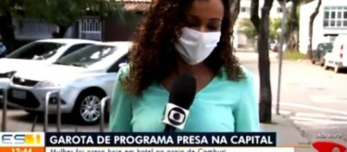 Repórter ri durante notícia e viraliza. (Arquivo Blasting News)