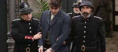 Una vita, spoiler Spagna: Liberto arrestato dopo aver tradito la moglie.