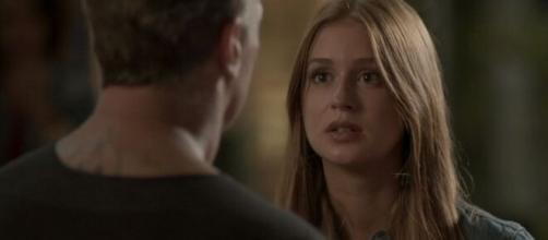 Eliza pedirá Arthur em namoro em 'Totalmente Demais'. (Reprodução/TV Globo)