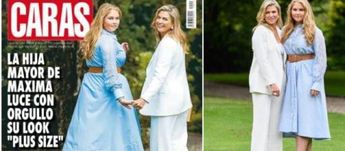 """La criticada portada de la revista argentina """"Caras"""", que señala a la princesa Amalia, heredera del trono de los Países Bajos."""