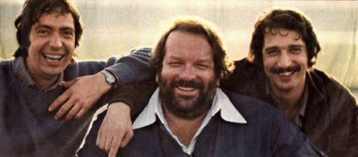 Oliver Onions con Bud Spencer.