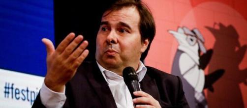 Presidente da câmara Rodrigo Maia. (Arquivo Blasting News)
