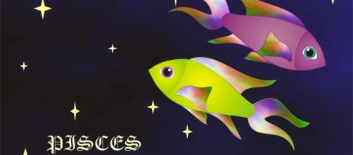Previsioni zodiacali di agosto, Pesci: bizzosi nella professione, gelosia nel mènage.