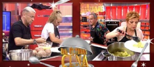 La última cena: Jorge Javier y Belén Esteban se enfrentan a Terelu y Víctor Sandoval