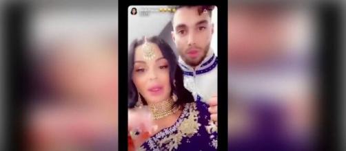 Sarah Fraisou et Ahmed se marient et clashent les personnes qui se sont incrustées à leur mariage !