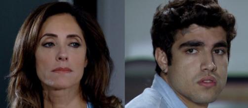 Christiane Torloni e Caio Castro de 'Fina Estampa' já perderam seus filhos. (Reprodução/TV Globo)
