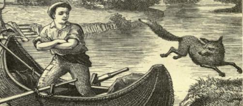 Grabado de 'Leyendas vascas' de Wentworth Webster