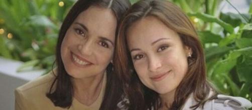 Regina e Gabriela fizeram parte do elenco da novela. (Arquivo Blasting News)