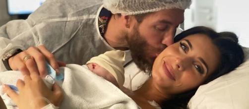 Televisión /Sergio Ramos y Pilar Rubio anuncian el nacimiento de su cuarto hijo