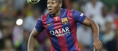 Adama Traoré atualmente é destaque na Premier League. (Arquivo Blasting News)