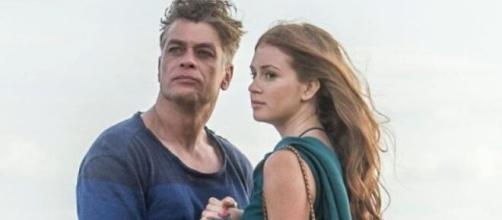 Eliza será ameaçada pelo padrasto depois de ser liberada da prisão em 'Totalmente Demais'. (Reprodução/TV Globo)