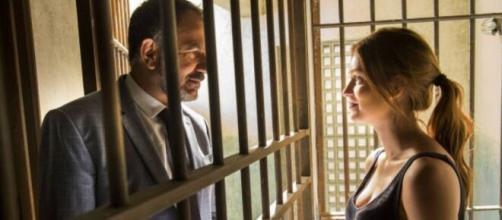 Germano e Eliza terão momento juntos em 'Totalmente Demais'. (Reprodução/TV Globo)