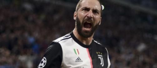 Juventus, possibile la cessione di Higuain