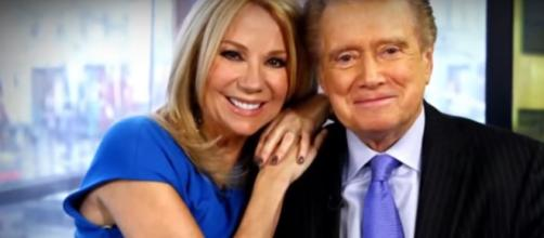 Kathie Lee Gifford described every day with Regis Philbin as a gift in her loving tribute to the TV legend. [Image source: TODAY-YouTube]