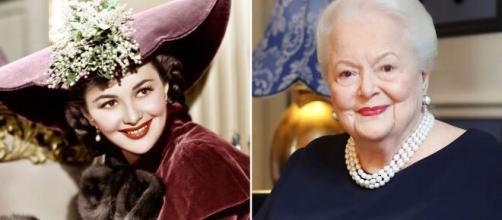 Olivia de Havilland, actrice du célèbre film Autant en emporte le vent, est décédée à Paris à l'âge de 104 ans, - capture Twitter)
