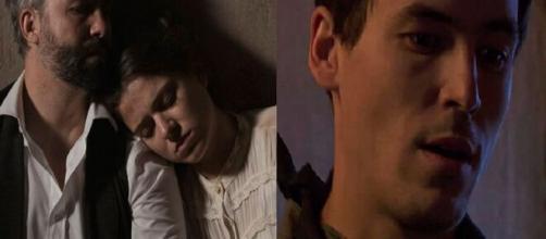 Una vita, spoiler spagnoli: Felipe e Genoveva vengono rapiti da Santiago.