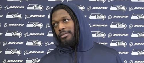 Clowney played for the Seahawks last season. [Image Source: Seattle Seahawks/YouTube]