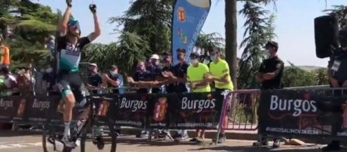 Felix Grosschartner vince la prima tappa della Vuelta Burgos.