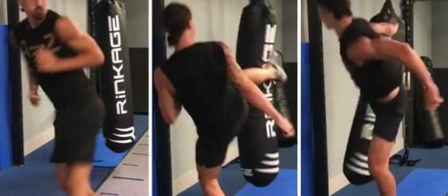 Ibra pratica taekwondo e é faixa preta na luta. (Arquivo Blasting News)
