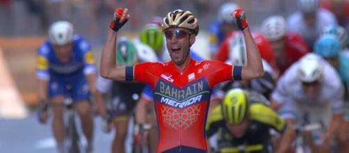 La vittoria di Vincenzo Nibali alla Milano - Sanremo del 2018