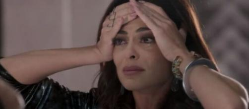 Carolina ficará devastada em 'Totalmente Demais'. (Reprodução/TV Globo)