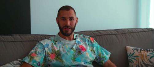 Karim Benzema répond à ses internautes et enflamme la toile - Photo capture d'écran vidéo YouTube
