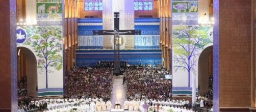 Santuário de Aparecida reabre para missas presenciais. (Arquivo Blasting News)