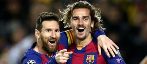 Griezmann potrebbe lasciare il Barcellona.