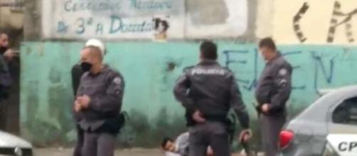 Homem acaba baleado pela PM após decapitar uma pessoa. (Divulgação/Polícia Militar)