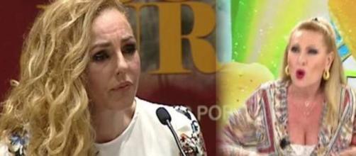 Rocío Carrasco y Rosa Benito en imagen