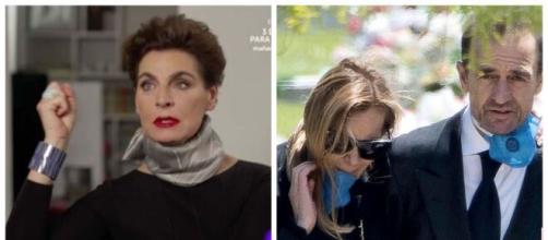 Antonia Dell'Atte, Ana Obregón y Alessandro Lequio